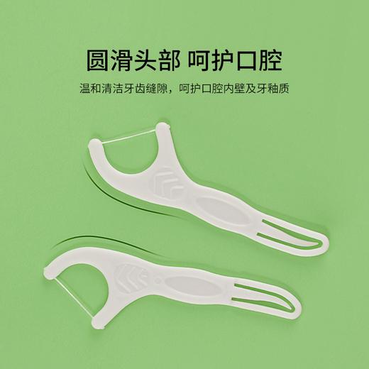 KENT肯特牙线棒家庭装超细薄荷味新口味清洁剔牙线 商品图3
