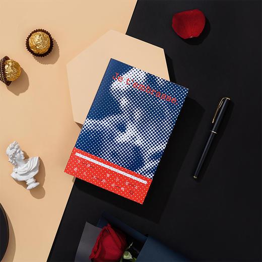 【为思礼】言仓文创吻笔记本文艺插图创意记事本子精致送礼送朋友格调礼物 商品图8