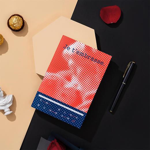 【为思礼】言仓文创吻笔记本文艺插图创意记事本子精致送礼送朋友格调礼物 商品图3