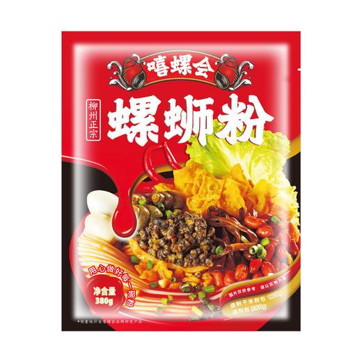 [螺肉款袋装螺蛳粉]肥美螺肉 鲜辣酸爽 380g/包 商品图3