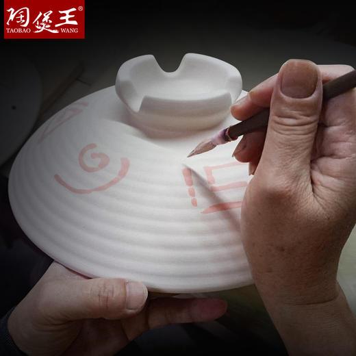 【古法传承 日式陶瓷】陶煲王日式砂锅 22道工艺 匠人手绘釉下彩 商品图1