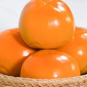 陕西巧克力柿子 脆甜柿子 脆柿子 甜脆味美 饱满圆润 果园直发