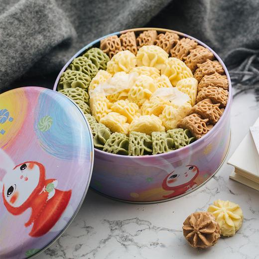 【积分加价购】[AKOKO经典小花冰淇淋曲奇饼干礼盒] 经典小花  与众不同  560g/盒 商品图1