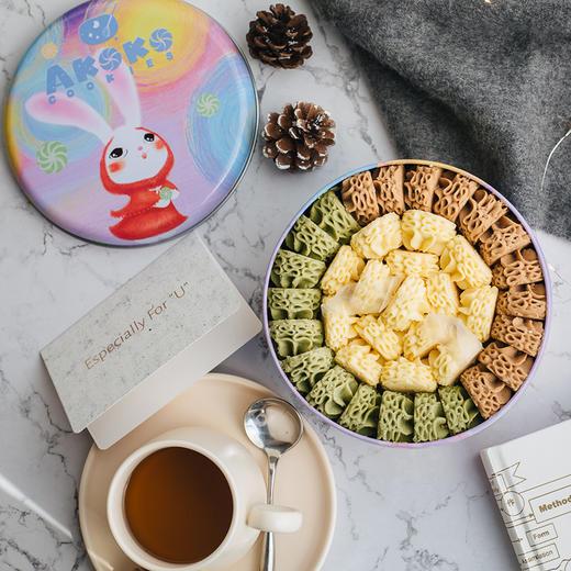 【积分加价购】[AKOKO经典小花冰淇淋曲奇饼干礼盒] 经典小花  与众不同  560g/盒 商品图0
