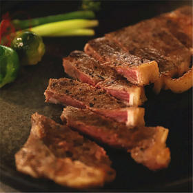 【月河】臻和牛149元双人牛排套餐 安格斯西冷牛排、意面、烤翅、蘑菇汤、草莓奶昔、雪梨汁...