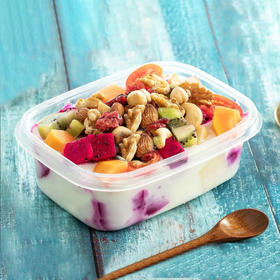 【营养套餐】6种水果+至少8种坚果组合睡够酸奶捞