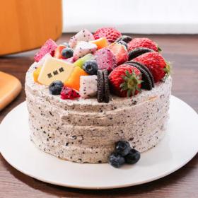 鲜果海盐奥利奥蛋糕