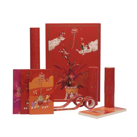 【钛空精选】宫禧紫气迎祥礼盒 对联福字新年礼物 商品图5