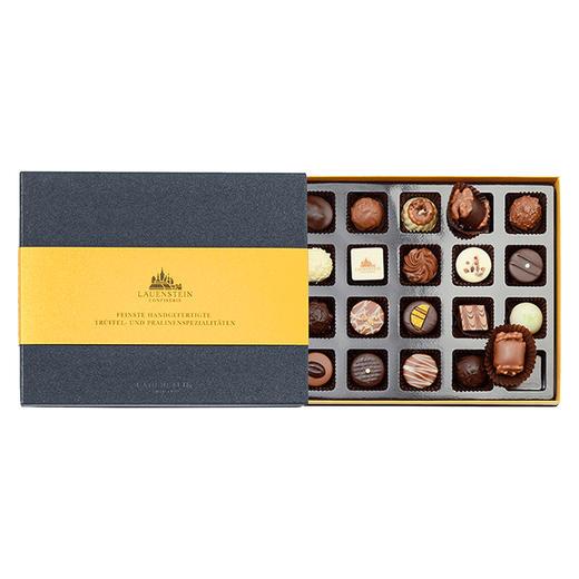 [LAUENSTEIN城堡巧克力金装礼盒]口感醇厚 齿颊留香 20粒/260g/盒 商品图1