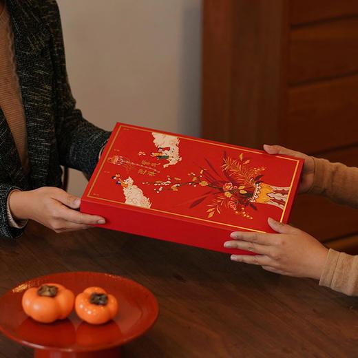 【钛空精选】宫禧紫气迎祥礼盒 对联福字新年礼物 商品图4