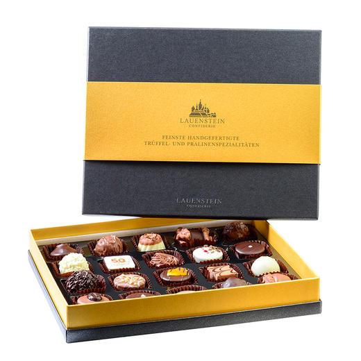 [LAUENSTEIN城堡巧克力金装礼盒]口感醇厚 齿颊留香 20粒/260g/盒 商品图3