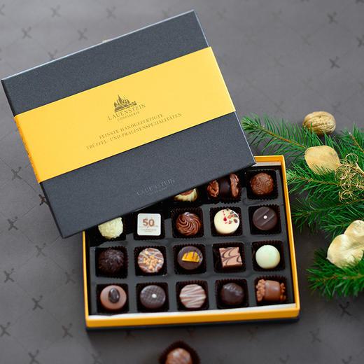 [LAUENSTEIN城堡巧克力金装礼盒]口感醇厚 齿颊留香 20粒/260g/盒 商品图0