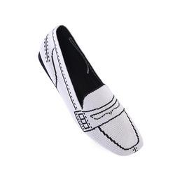 Malove2020新款方头女鞋平底小高跟复古时尚单鞋莫兰迪系列