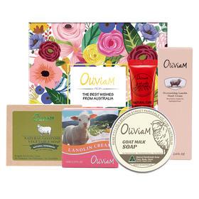【为思礼】Oliviam/澳莉维亚 舒缓养肤礼盒套装 澳洲多件套淡化细纹舒缓养肤长效保湿