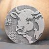 【中国金币】2021牛年护身佛生肖贺岁80克银章(45mm) 商品缩略图2