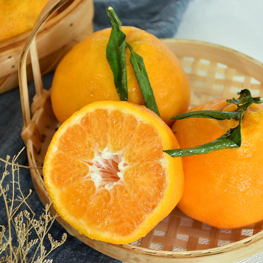 农道大叔精选   春见耙耙柑 肉质脆嫩 多汁 清甜 现摘生鲜水果 商品图4