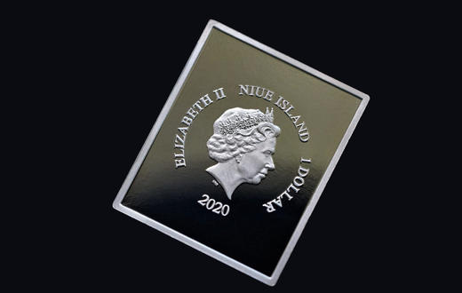 邮票诞生180周年黑便士纪念币 商品图2