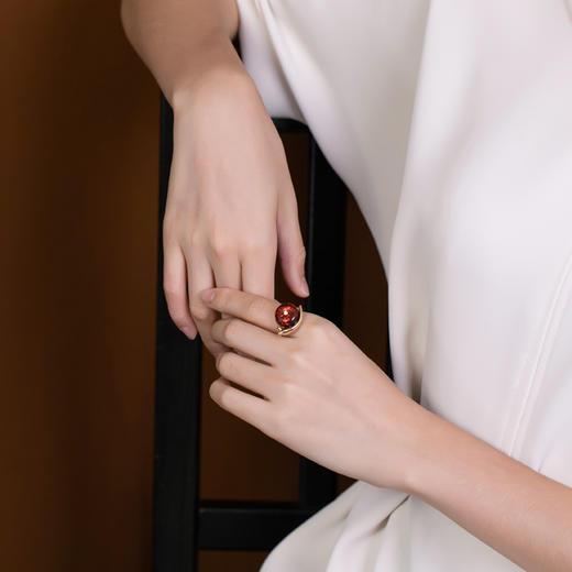 CWSS新款S925纯银镀金个性蜗牛耳饰戒指吊坠TZF 商品图4