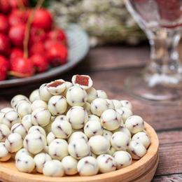 酸奶山楂球 ❥ 饭前开胃 饭后消食 奶香浓郁 甜酸可口 配料简单 营养小零食