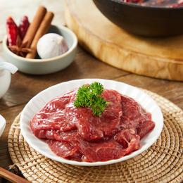 129选5[嫩滑火锅牛肉片]色泽红润  鲜嫩多汁    228g/包