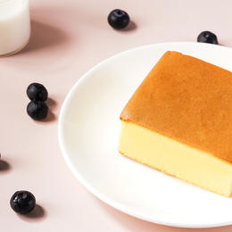 [优点厚切纯蛋糕块] 吃货都爱的厚切纯蛋糕  500g/箱