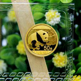 2016年熊猫3克金币(配金币绿盒)