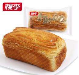 桃李手撕面包160g/袋