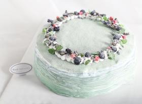 【招牌推荐】超仙气雾霾蓝千层蛋糕(芒果千层)