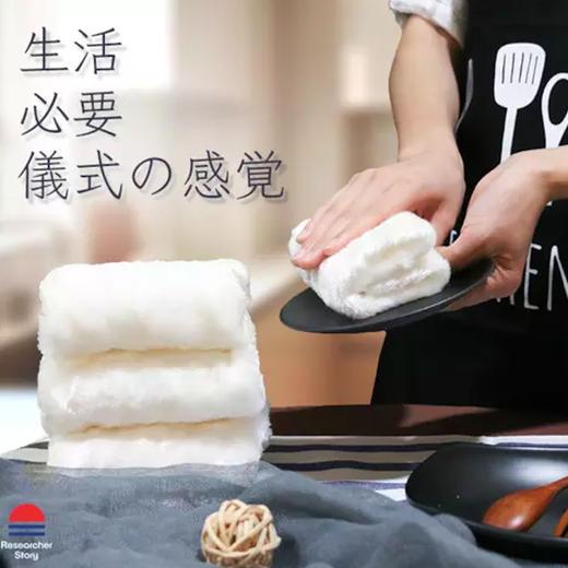 【日本神奇抹布】木纤维自清洁 海量吸油不沾油 吸水速干 告别洗涤剂 厨房去油利器 商品图1