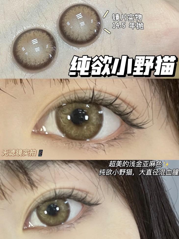 COVERPINKY 小恶魔棕 14.5mm-VVCON美瞳网