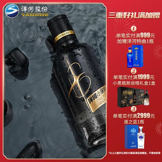【品鉴不凡】洋河小黑瓶 单瓶装 商品图0
